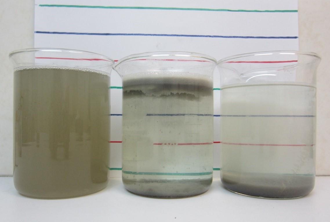 فاضلاب کارواش - نتایج پکیج انعقاد و شناورسازی الکتریکی شمیم شریف